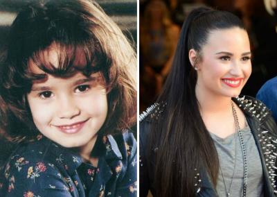 Demi Lovato v detstve