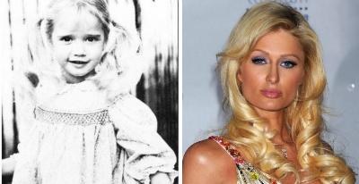Peris Hilton v detstve