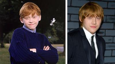 Rupert Grin v detstve