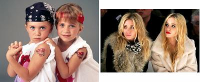 Sestri Olsen v detstve