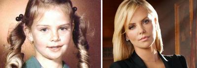Sharliz Teron v detstve