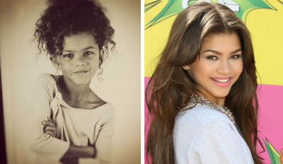 Zendaya coleman v detstve