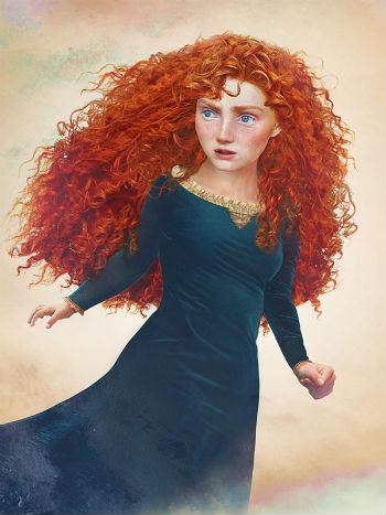 """Принцесса Мерида """"Холодная сердцем"""""""