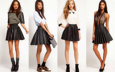 С чем можно одевать юбку колокольчик
