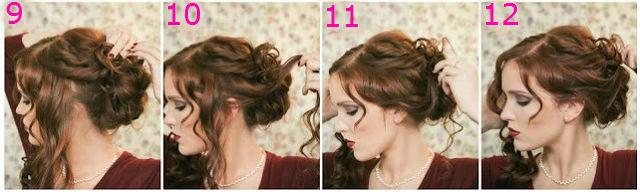 Причёска на средние волосы кудри своими руками