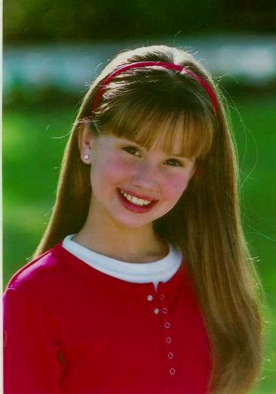 Деби Райен в детстве