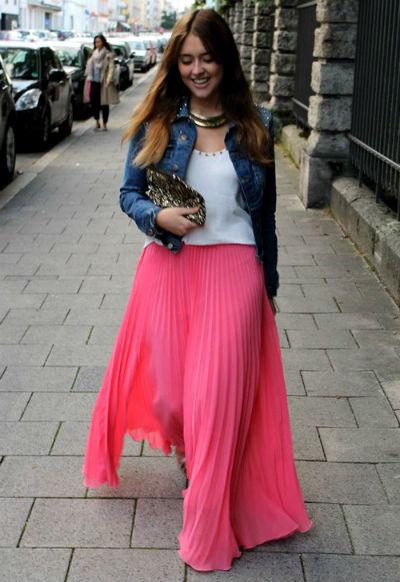 юбка по колено с кедами фото