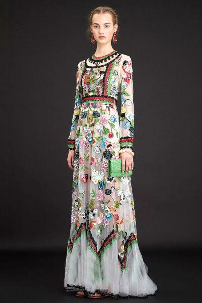Туркменские платья с вышивками фото