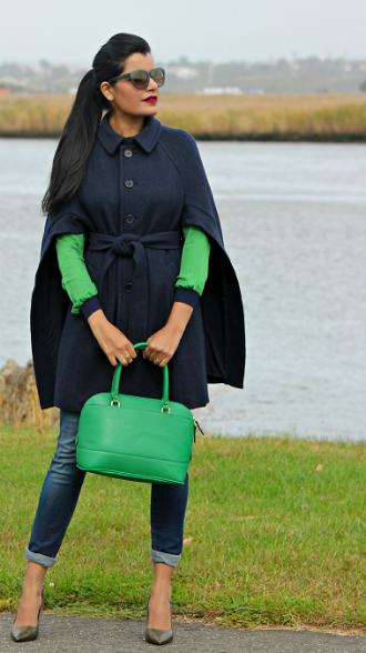 Стильная одежда кейп-силуэта (45 фото)