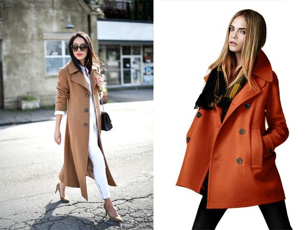Женщина в осеннем пальто картинки
