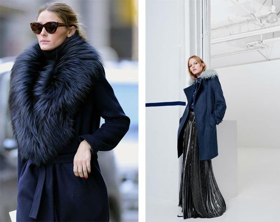 Пальто с мехом своими руками