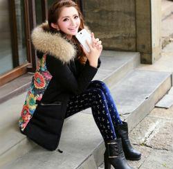Самые модные женские пуховики с мехом. Фото лучших пуховиков