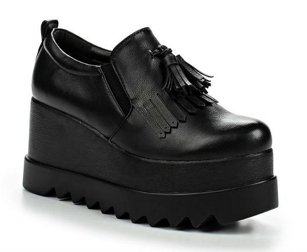 Школьные туфли для девочек, фото.