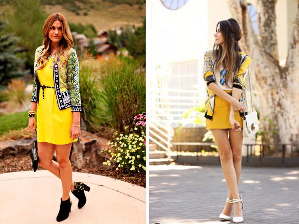 Для повседневного платья подойдет сумка на длинном ремешке или цепочке.