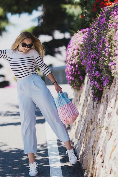 Вязаная сумка – стильный элемент современного образа