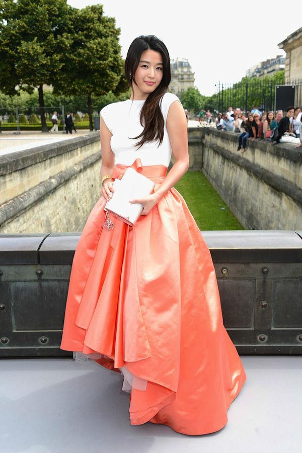 Оранжевая юбка для ярких и модных натур (более 50 фото)