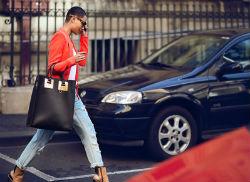 Красный женский пиджак — ярко и стильно (более 30 фото образов)
