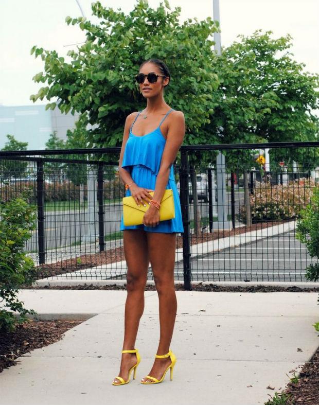 Что носить с желтыми босоножками (более 45 фото)
