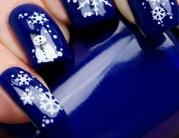 Самые эффектные идеи зимнего маникюра (более 65 примеров)
