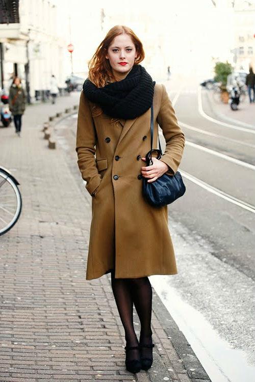 Красивый и модный снуд - стильные фасоны и с чем сочетать (50+ фото)