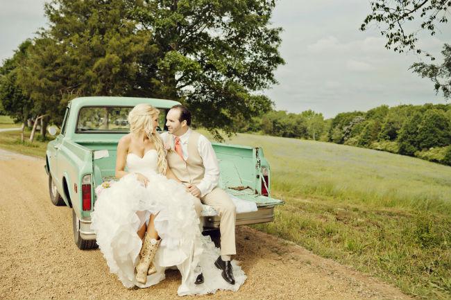 Кантри свадьба.