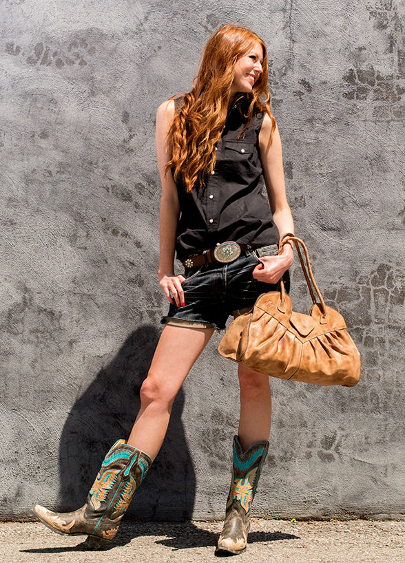 Одежда в стиле Кантри - комфортно, стильно и привлекательно (более 50 фото)