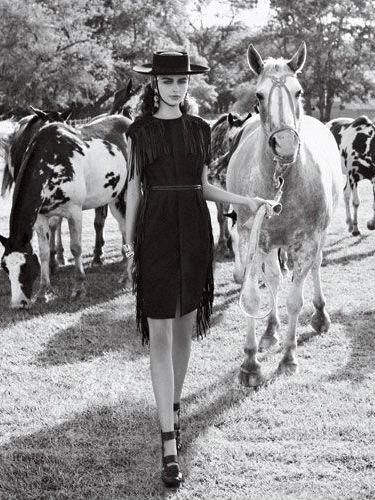 Стиль Гаучо - история, особенности, модная одежда (более 50 фото)