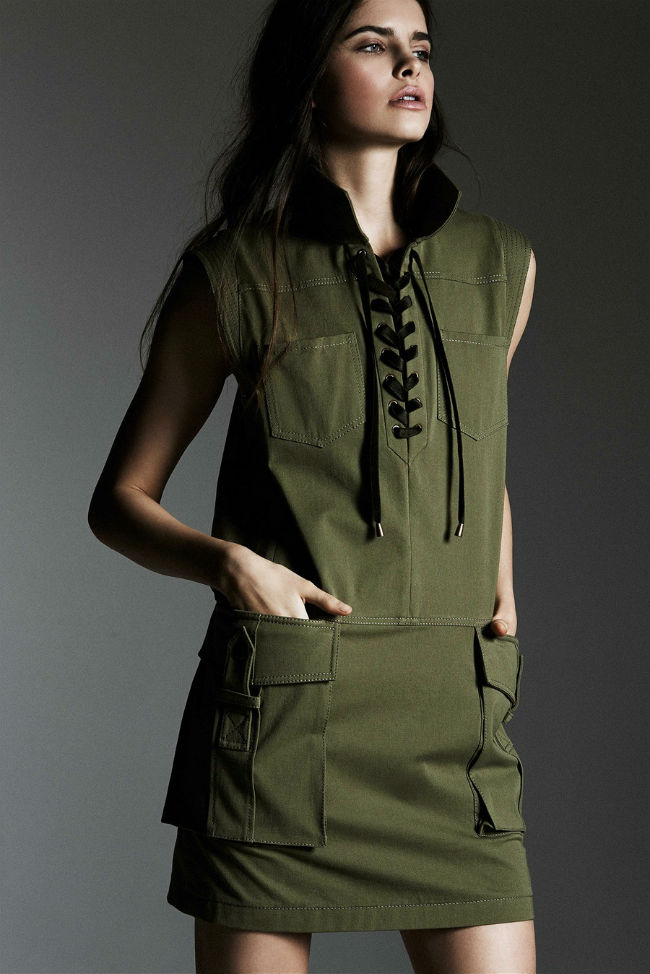 Одежда в стиле Милитари - история появления стиля, модные вещи (60+ фото)