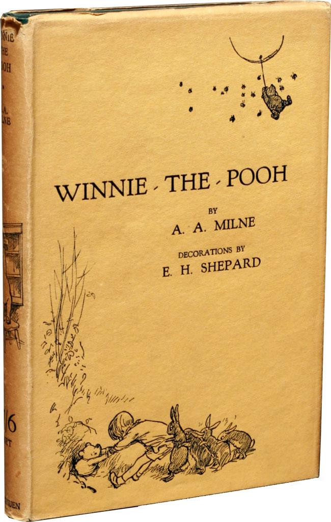 """Принц Гарри подарил Луи на крестины книгу """"Винни-Пух"""" 1926 года выпуска за 8000 фунтов стерлингов"""