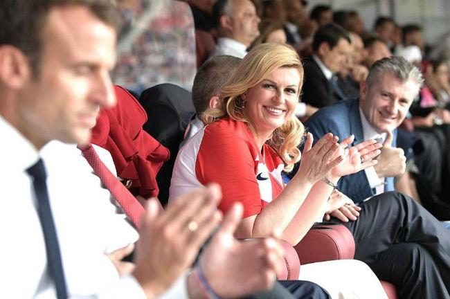 Ах, какая женщина! Президент Хорватии Колинда Грабар-Китарович покорила сердца всех вокруг
