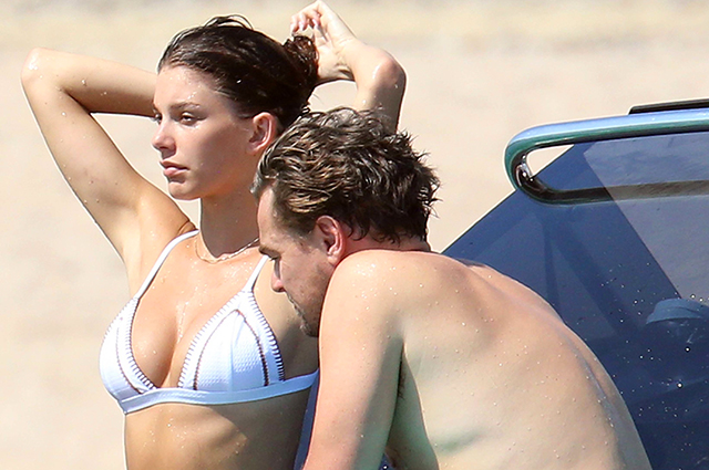Леонардо ДиКаприо отдыхает на своей яхте с моделью Камиллой Морроне