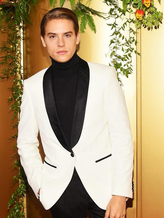 Дилан Спроус на вечеринке Vanity Fair's Best-Dressed 2018 с Барбарой Павлин