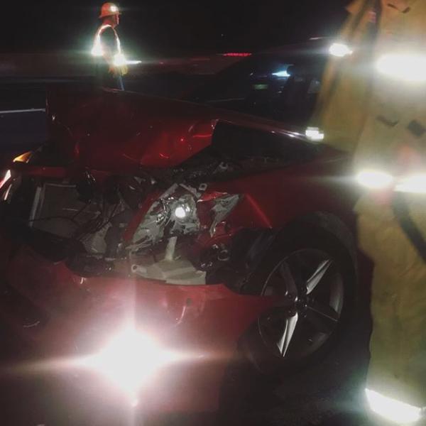 Актер сериала «Ривердейл» Харт Дентон попал на выходных в автомобильную аварию