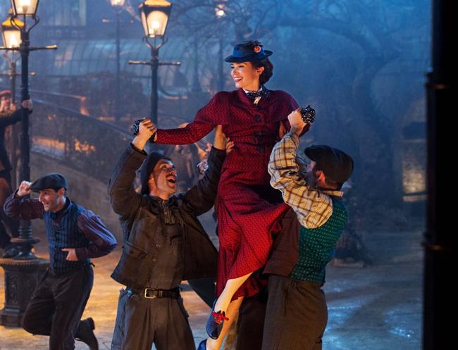 Walt Disney Studios выпустил официальный тизер фильма «Мэри Поппинс возвращается»