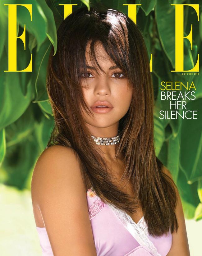 Селена Гомес дала интервью и снялась для обложки и разворота журнала Elle