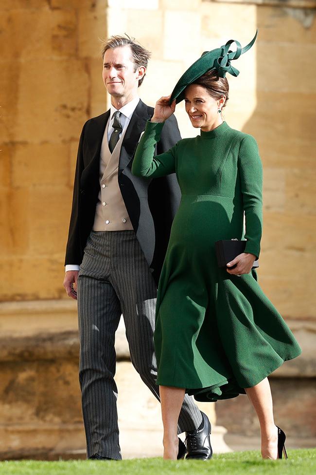 Стильные знаменитые гости на свадьбе принцессы Евгении и Джека Бруксбэнка