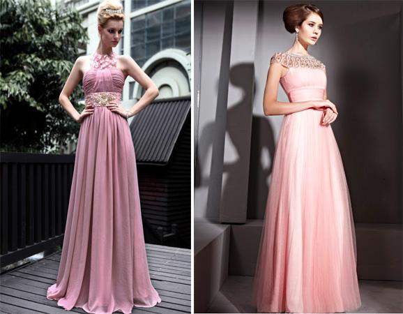 9216f7ffeb7 С чем носить розовое платье. Более 60 фото