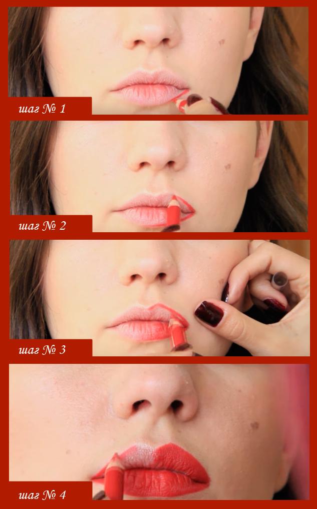 Как накрасить губы красной помадой к 8 Марта и другим важным поводам