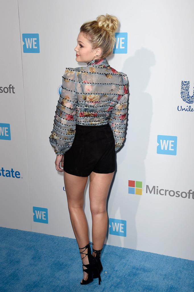 13 самых модных образов актрисы Оливии Холт в шортах