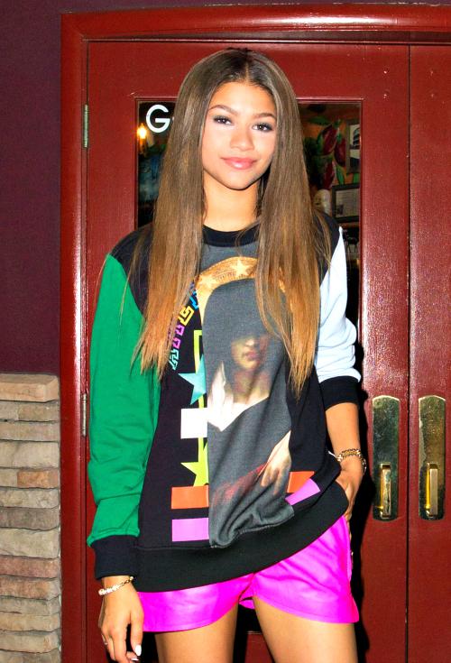 12 стильных образов актрисы и певицы Зендайи Колеман в шортах
