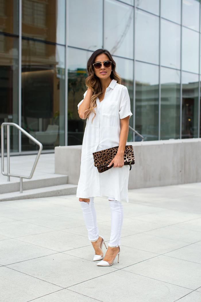 Белая блузка с джинсами: стильные и свежие образы (более 40 фото)