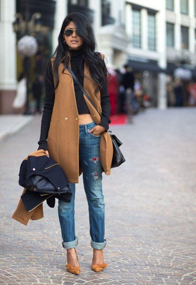 С чем носить водолазку - самые модные и стильные образы
