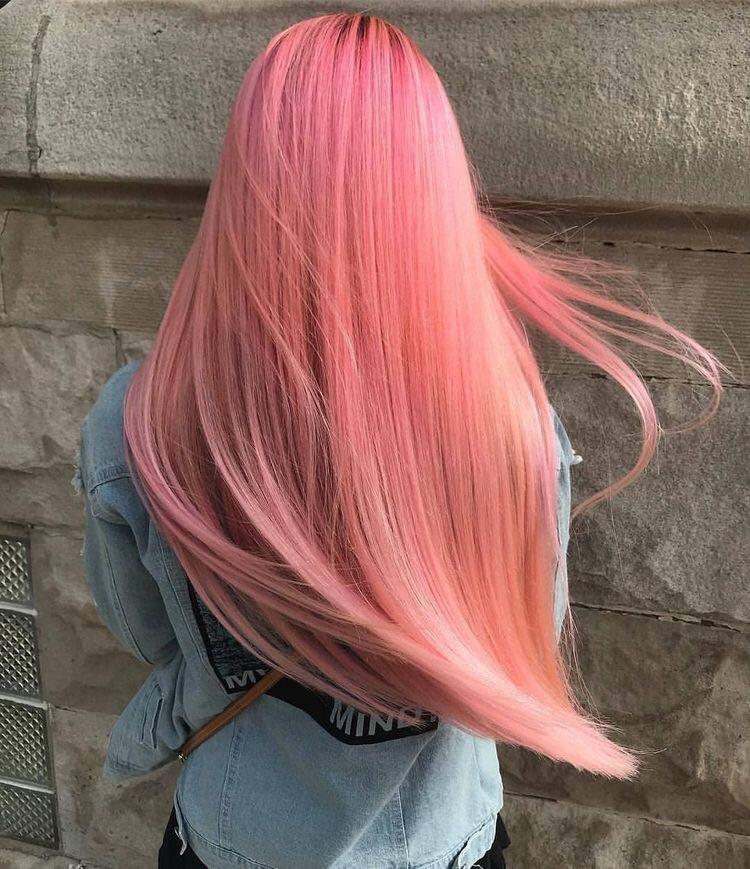 Потрясающие розовые волосы (более 65 фото девушек)
