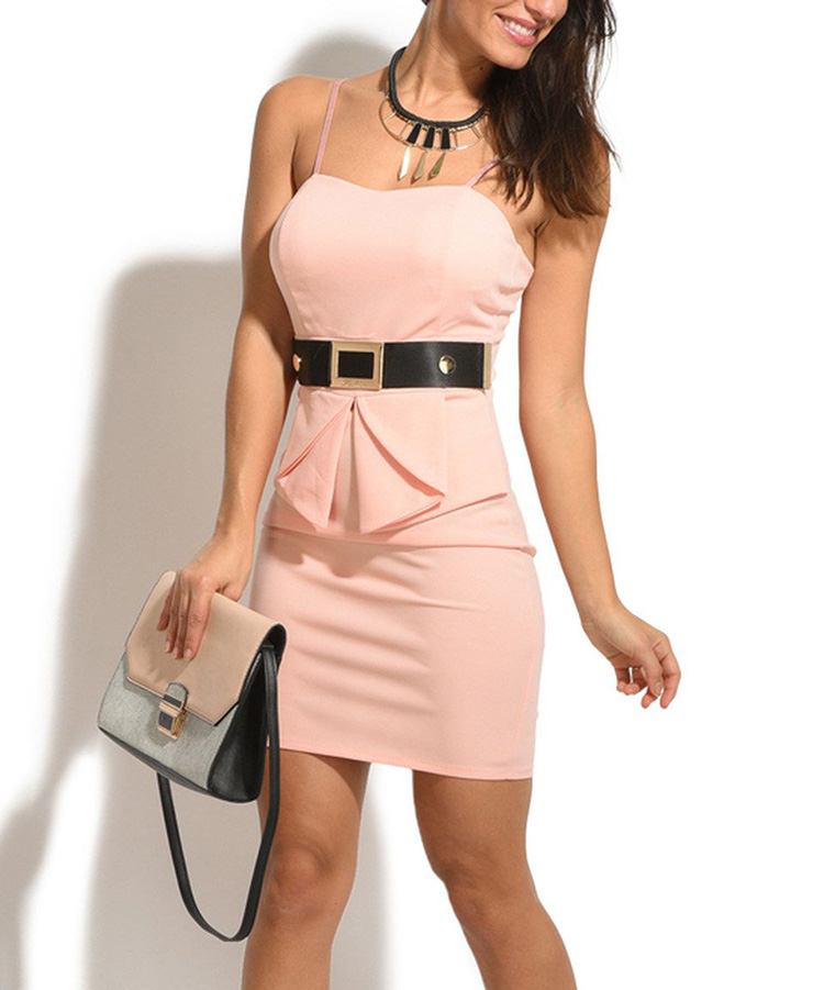 Подбираем подходящий ремень к розовому платью (более 40 фото)